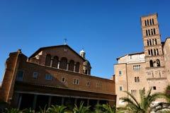 Basilica di Santi Giovanni e Paolo in Rome Royalty Free Stock Photo