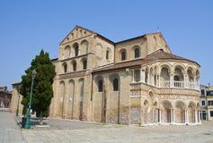 Basilica di Santi Maria e Donato, Murano, Venecia Imagen de archivo