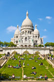 Basilica di Sarce Coeur, Parigi immagini stock