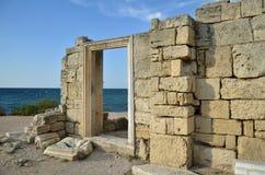 6-10 basilica di secolo, Chersonesus Immagine Stock Libera da Diritti