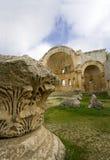 Basilica di Simeon del san, Aleppo, Siria Fotografie Stock