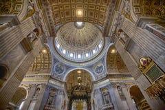 basilica di sköt natt Royaltyfri Foto