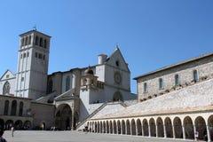 Basilica di St Francis in Assisi Fotografia Stock Libera da Diritti