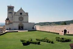 Basilica di St Francis in Assisi Fotografia Stock