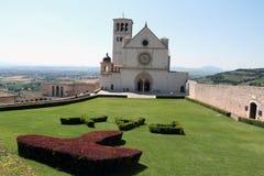 Basilica di St Francis in Assisi Fotografie Stock Libere da Diritti