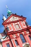 Basilica di St George, Praga. Fotografia Stock
