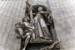 Basilica di St Peter, Città del Vaticano, Vaticano Fotografie Stock Libere da Diritti