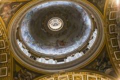 Basilica di St Peter, Città del Vaticano, Vaticano Immagini Stock Libere da Diritti