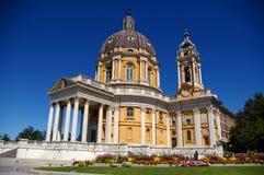 Basilica di Superga fotografie stock