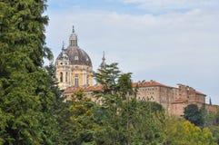 Basilica di Superga in Turin. Basilica di Superga church in Turin, Italy Stock Photos