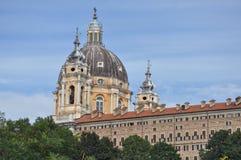 Basilica di Superga in Turin. Basilica di Superga church in Turin, Italy Stock Images