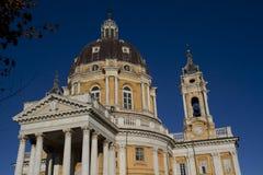 Basilica di Superga Torino Italia Fotografia Stock