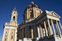Basilica di Superga Torino Italia Fotografia Stock Libera da Diritti