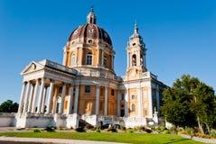 Basilica di Superga, Turín, Italia Foto de archivo libre de regalías