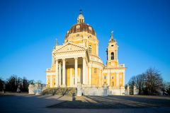 Basilica Di Superga Turijn, Italië stock afbeelding
