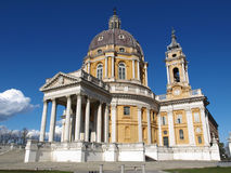 Basilica di Superga, Turin Royalty Free Stock Photography