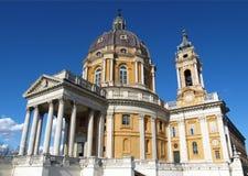 Basilica di Superga, Turin Stock Photos