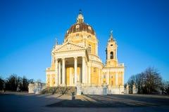 Basilica di Superga Turin, Italie Image stock
