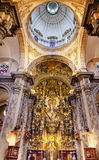 Basilica Dome Church El Salvador Seville Andalusia Spain Royalty Free Stock Photo