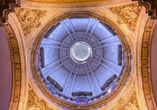 Basilica Dome Church El Salvador Seville Andalusia Spain Royalty Free Stock Photos
