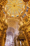 Basilica Dome Stained Glass Cathedral Andalusia Granada Spain Royalty Free Stock Photography