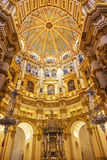 Basilica Dome Stained Glass Cathedral Andalusia Granada Spain Stock Photo