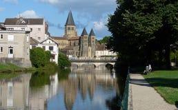 Basilica du Sacré-Coeur al Paray-le-Monial fotografia stock