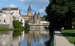 Basilica du Sacré-Coeur an Paray-Le-Monial Stockfoto