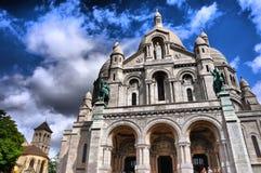 Basilica du Sacre-Coeur Montmartre, Paris Stock Photos