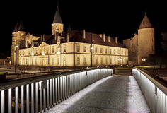 The basilica du Sacre Coeur in Paray-le-Monial Stock Photo