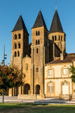 The basilica du Sacre Coeur in Paray-le-Monial Stock Images