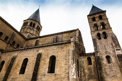 The basilica du Sacre Coeur in Paray-le-Monial Royalty Free Stock Image
