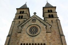 Basilica in Echternach Stock Photography