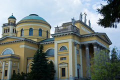 Basilica in Eger royalty free stock photos