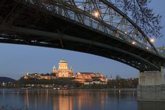 Basilica in Esztergom Royalty Free Stock Photo