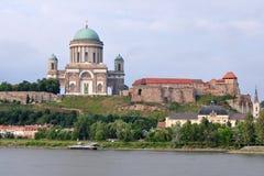 The Basilica Esztergom,Hungary Stock Photos
