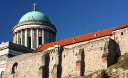 Basilica in Esztergom (Hungary) Royalty Free Stock Images