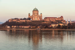 Basilica in Esztergom, Hungary Royalty Free Stock Photos