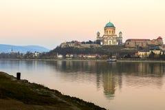 Basilica in Esztergom, Hungary Stock Photos