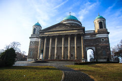 Basilica in Esztergom. Hungary Stock Photography