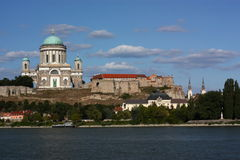 Basilica in Esztergom (Ungheria) Immagine Stock