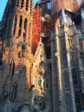 The Basilica and Expiatory Church of the Holy Family (Sagrada Familia) Stock Images