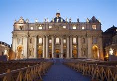 Basilica för Rome St. Peter s Royaltyfri Bild