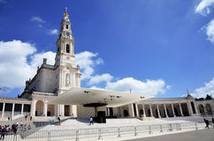 The Basilica of Fatima Royalty Free Stock Photo