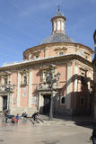 Basilica of the Forsaken in Valencia, Spain Royalty Free Stock Image