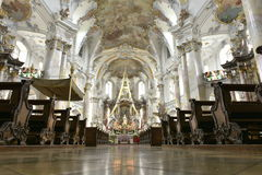 Basilica of the Fourteen Holy Helpers, Germany Royalty Free Stock Images