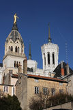 Basilica of Fourviere Royalty Free Stock Images