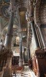 Basilica Fourviere dentro, Lione Fotografia Stock Libera da Diritti