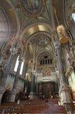 Basilica Fourviere inside, Lyon Stock Photos