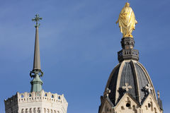 Basilica of Fourviere in Lyon Stock Photo